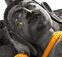 Reclining Buddha, Thailand  by 3523studio