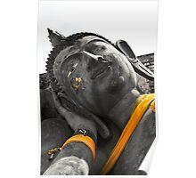Reclining Buddha, Thailand  Poster