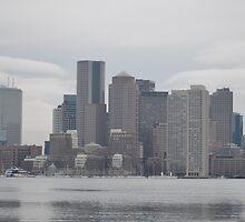 Boston Skyline by Willmoxdog