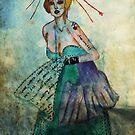 Lady Gaga Wedding Dress by isaacson1974