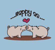 Happy as Pigs in Mud! T-Shirt