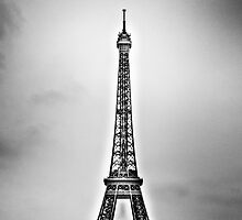 Eiffel Tower on a Snowy Day by Luke Donegan