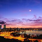 perth sunrise  by warren dacey