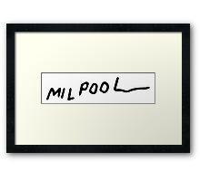 Milpool - The Simpsons Framed Print