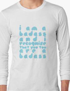 """The Mortal Instruments: """"Badass"""" Long Sleeve T-Shirt"""