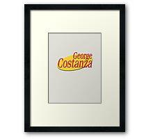 George Costanza Framed Print