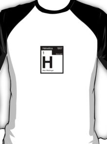Helvetica Periodic Logo 2 (in black) T-Shirt