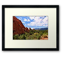 Cathedral Valley Framed Print