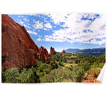 Cathedral Valley Poster