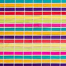 Colorful placemat by Harald Walker