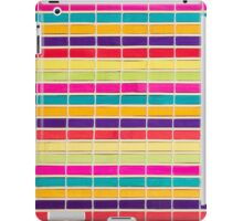 Colorful placemat iPad Case/Skin