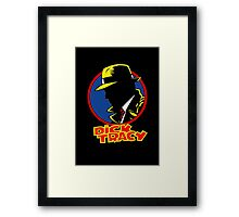 DICK TRACY PROFILE Framed Print