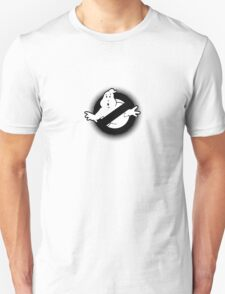 Original Ghostbusters Halftone Logo (in black and white) T-Shirt