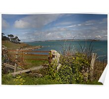 Rusty Fence & Stile Poster