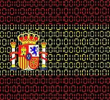 digital Flag (spain) by sebmcnulty