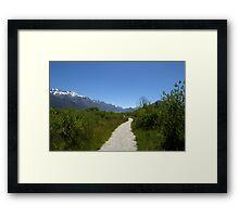 Glenorchy Trek Framed Print