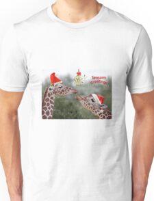 Mistletoe Moments Unisex T-Shirt