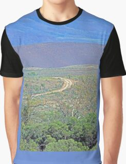 A road to the hills from Beltana Station Graphic T-Shirt