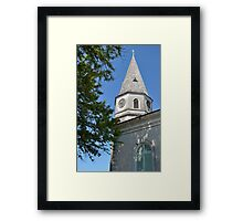 Anno 1802 St Matthew's Church in Nassau, The Bahamas Framed Print