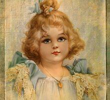 Blue eyed girl by © Kira Bodensted