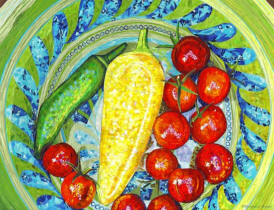 Garden Harvest by SRowe Art