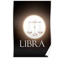 Libra Moon Poster