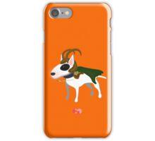 Loki bull terrier  iPhone Case/Skin