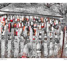 Wintering Buoys by Richard Bean