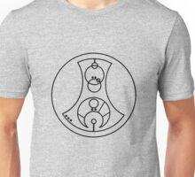 Fuck You - Circular Gallifreyan (black) Unisex T-Shirt