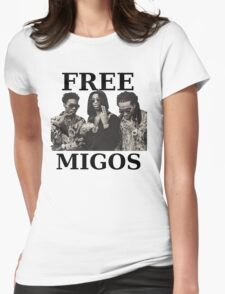 FREE MIGOS Womens Fitted T-Shirt