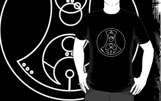 Fuck You - Circular Gallifreyan (white) by robynhinchman