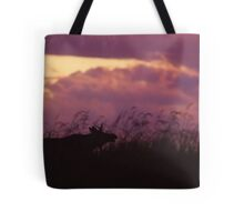 Rutting Bull Moose Tote Bag
