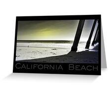 California Beach (card) Greeting Card