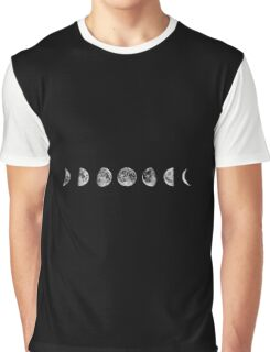 stages of the moon Graphic T-Shirt