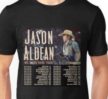 JASON ALDEAN TOUR DATES 2016 Unisex T-Shirt