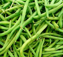 Green Beans by OneSmartKitty