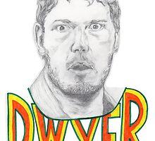 Andy Dwyer/Chris Pratt Portrait by PhilippaDMTW