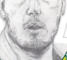 Andy Dwyer/Chris Pratt Portrait Sticker