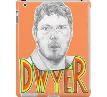 Andy Dwyer/Chris Pratt Portrait iPad Case/Skin