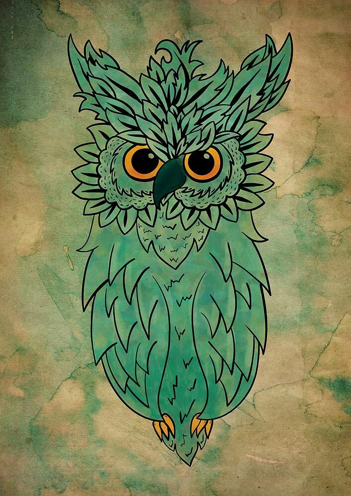 Owl  by gemlovesyou