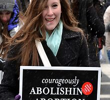 March for Life - Courageously by Matsumoto