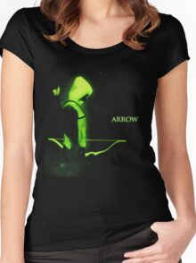 The Arrow - Alone in the Dark Women's Fitted Scoop T-Shirt