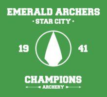 Emerald Archers Baby Tee