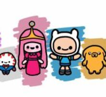 Adventure Time:Cute Version Sticker