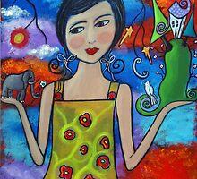 Creating My World V by Juli Cady Ryan