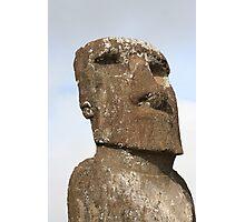 Ahu Akivi Individual Statue Photographic Print