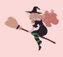 Strawberry Blond Witch Kids Tee