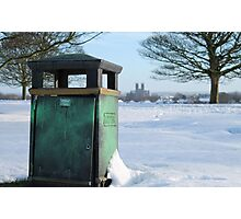 Beverley and the Bin Photographic Print