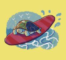 Surfing Turtle Kids Tee