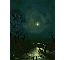 Road Home to Wharfedale Photographic Print